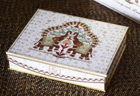 Designer Boxed Wedding Invitations   Indian Wedding Box