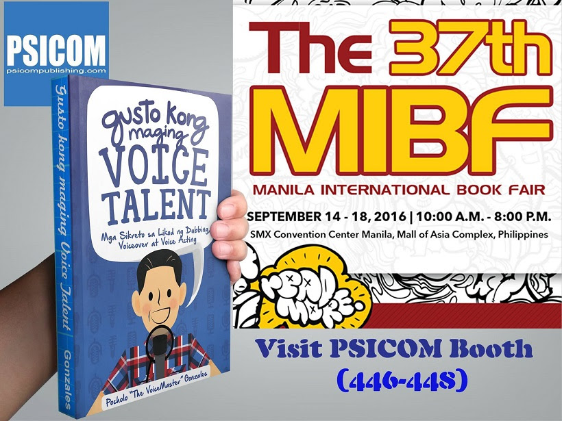 Gusto Kong Maging Voice Talent at the Manila International Book Fair 2016
