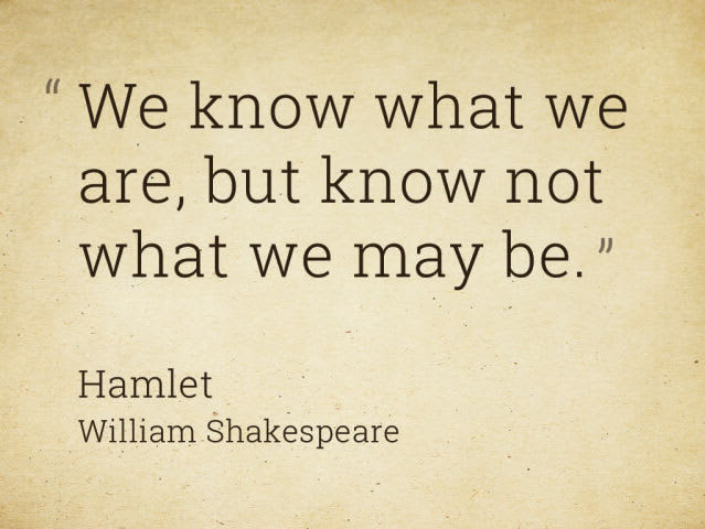 Which Shakespeare Quote Reflects Your Coming Year Riddles