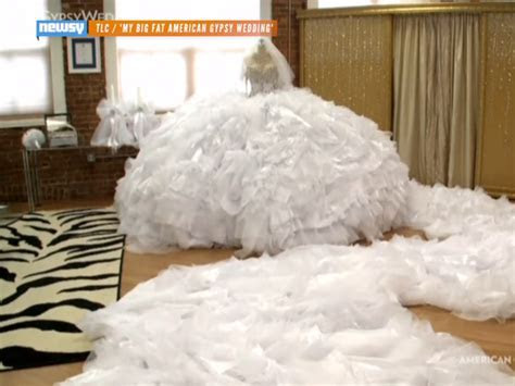 See The Huge Dress That Made 'Big Fat Gypsy Wedding