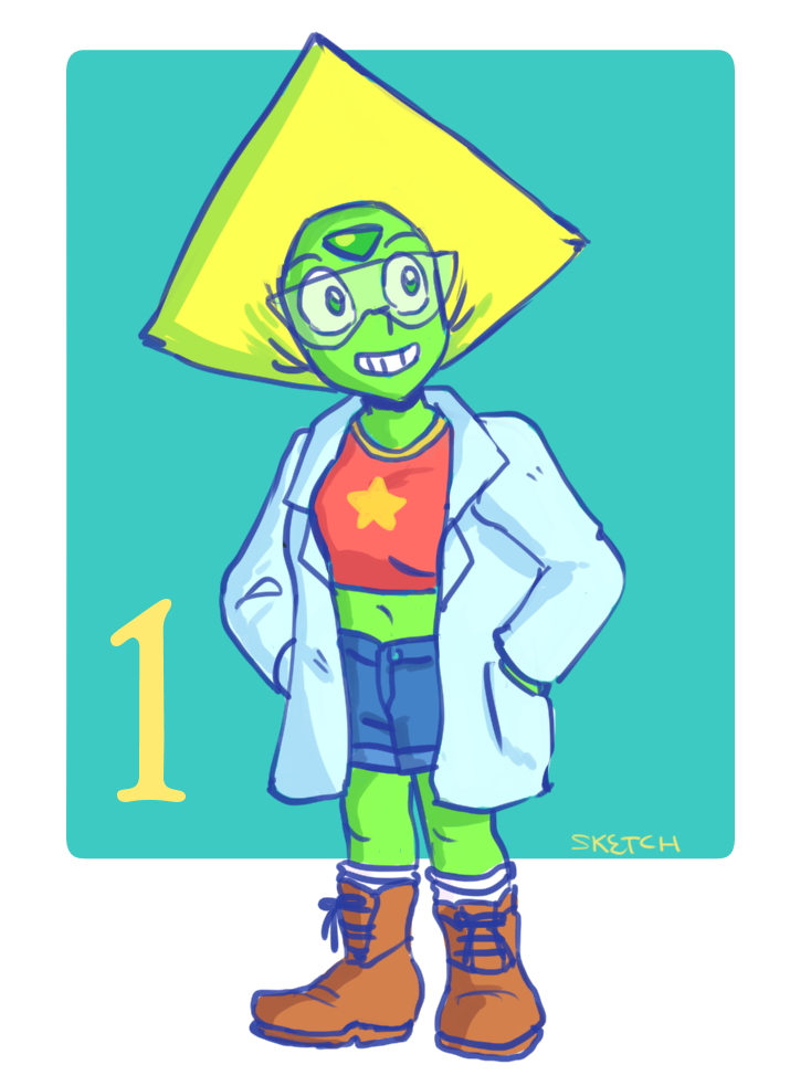 It's month of Peridot! Day 1 - Science!