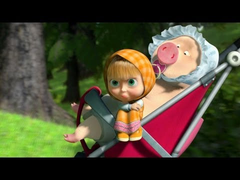 Кадр из мультфильма «Маша и Медведь : Большая стирка (серия 18)»