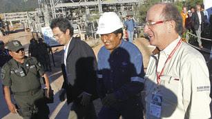 Ver vídeo  'Bolivia expropia la filial de Red Eléctrica mientras estrecha lazos con Repsol'