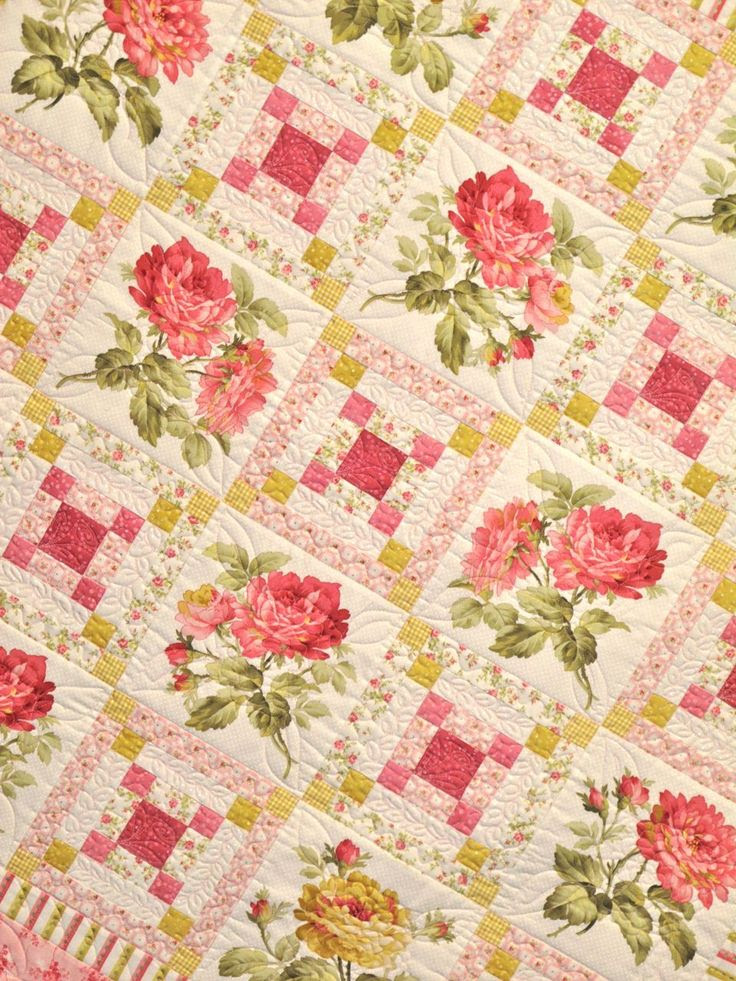 Lakehouse Irish Rose Quilt very pretty.  When I began quilting, I thought roses passe'.  Gradually I saw the beauty and merit of using them in quilts. After all, artists' have been using them in their varied crafts for Hundreds, if not Thousands, of years.