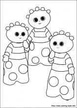 In The Night Garden Coloring Pages On Coloring Bookinfo