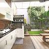 Dekorasi Desain Dapur Belakang Rumah Terbaru