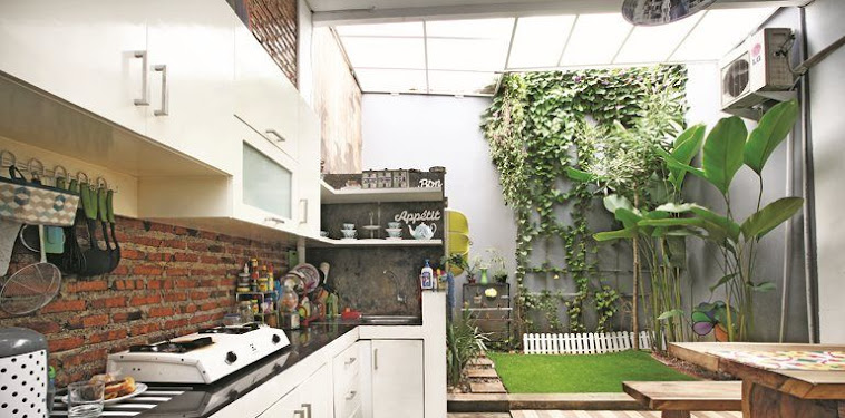 Dekorasi Desain Dapur Dan Taman Belakang Rumah Terbaru