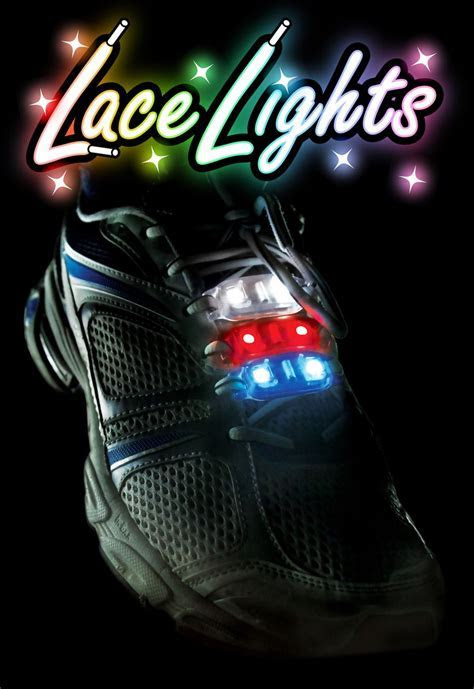 Lace Lights   LED Light up Laces   Gifts.co.uk