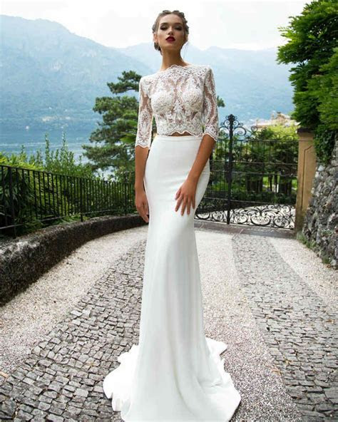 Milla Nova 2017 Wedding Dresses, Two Piece Wedding Dress