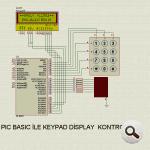 pic-cơ bản-bàn phím-LCD-display-control-PIC16F877