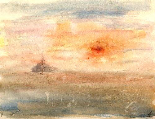 Mont Saint Michel  – Alain Husson-Dumoutier