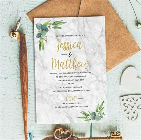 Rustic Wedding Invitation, Wedding Reception Invitation