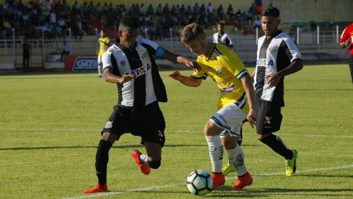 Santos, Luverdense, Copa do Brasil Sub-20 (Foto: Maico Gaúcho/Luverdense)
