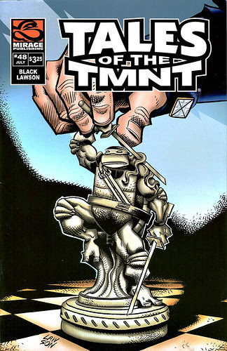 Tales of the TMNT  [[v.2 ]] #48 / large scan (( July 2008 ))