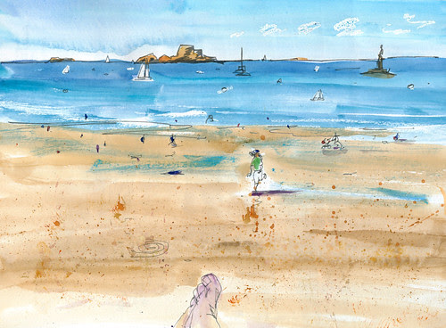 August 2013: France - St. Malo