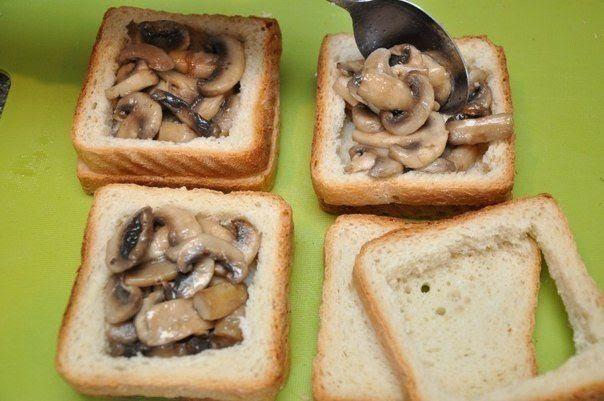 DIY Delicious sandwich as breakfast5