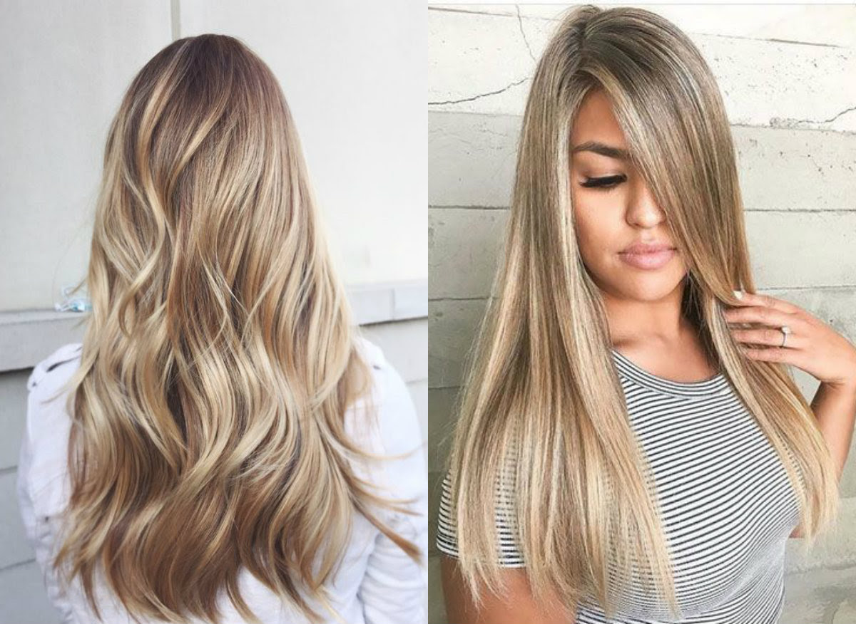 Long Blonde Hair Highlights Hairstyles 80 Short Blonde