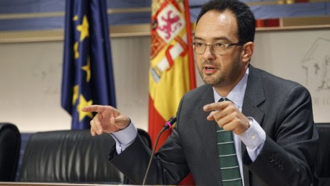 El portavoz del PSOE en el Congreso, Antonio Hernando, en una foto de archivo. EFE