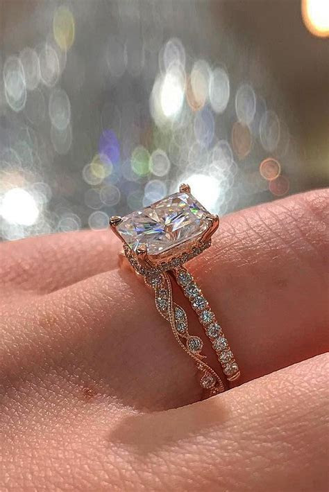 30 Rose Gold Wedding Rings For The Romantic Bride to Be