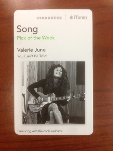 Starbucks iTunes Pick of the Week - Valerie June - You Can't Be Told