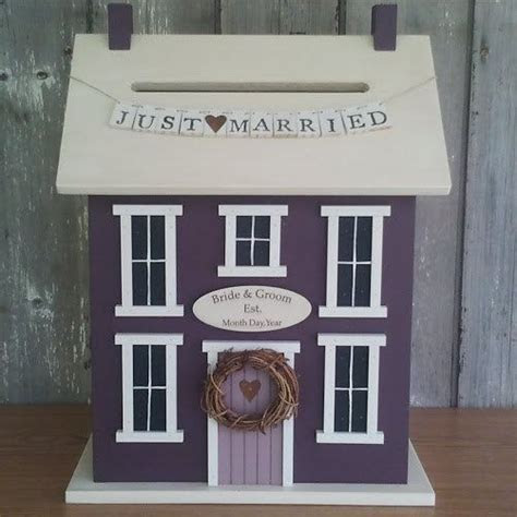 Wedding Card Holder Money Box House The by