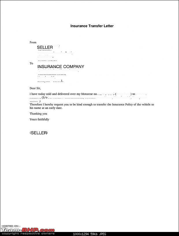 52914d1222360676t need advice car sold but not transferred 005insurance transfer letter