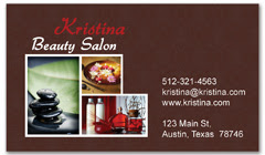 BCS-1095 - salon business card