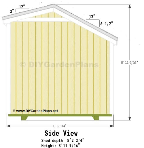10 X 16 Saltbox Shed Plans – Saltbox Garden Shed Plans