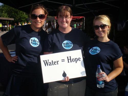 Water = Hope volunteers