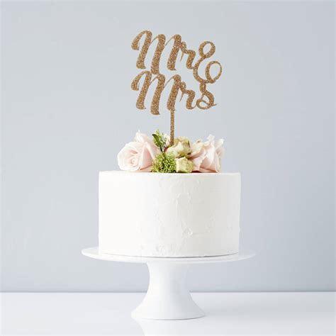 mr and mrs wedding cake topper by sophia victoria joy