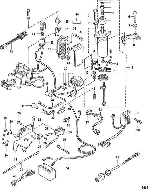 Mercury Marine 9.9 HP (4-Stroke) (209 cc) Electrical