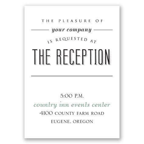 A Wedding Celebration Reception Card   Invitations By Dawn