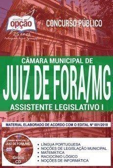 Apostila Concurso Câmara de Juiz de Fora 2018 | ASSISTENTE LEGISLATIVO I