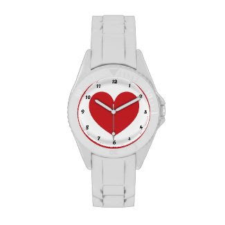 Red Heart Watch