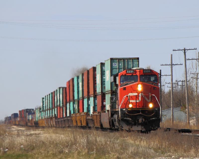 CN 2231 in Winnipeg