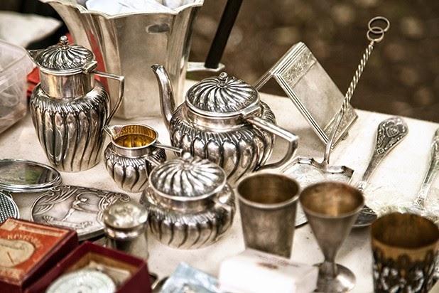 Silber Anlaufen Lassen