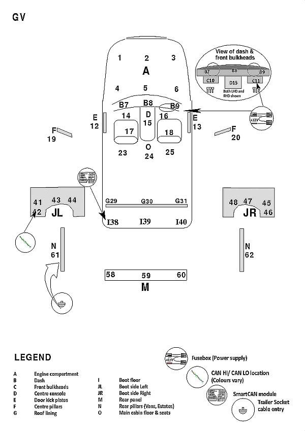 307 Stereo Wiring Diagram