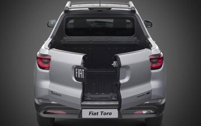 Fiat Toro. Foto: Divulgaçãoo