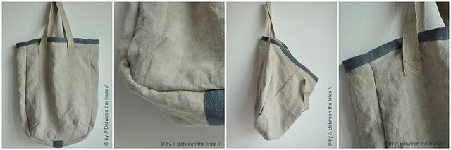 simple linen bag
