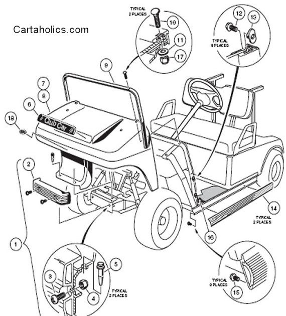 35 Ezgo Steering Parts Diagram
