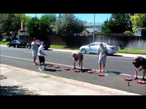 video que muestra como explotan 500 Petardos a la Vez