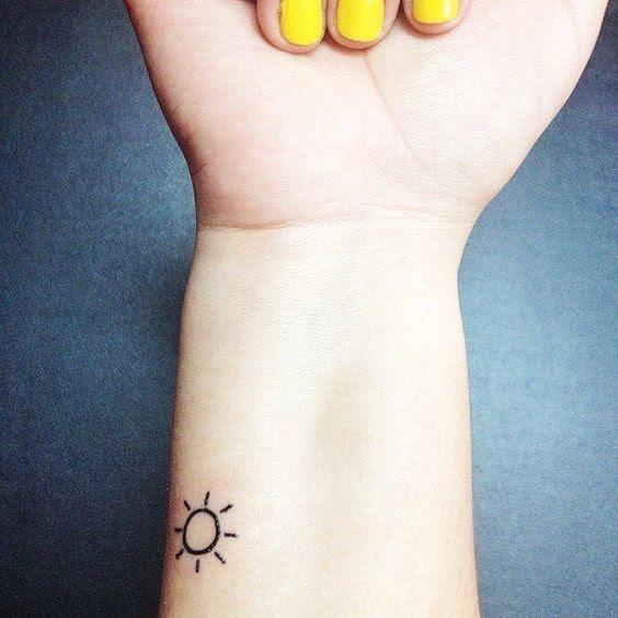 25 Mejores Tatuajes De Sol Y Su Significado