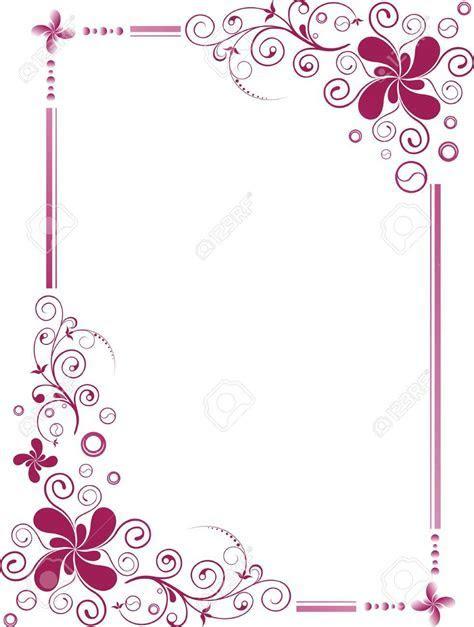 3492047 Floral Design Border Frame Stock Vector wedding