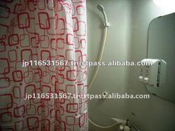 Eva Japanese Design Shower Curtain Pink Color - Buy Japanese ...
