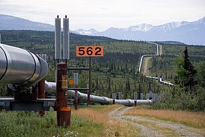 Trans-Alaska Pipeline System. It runs from the...