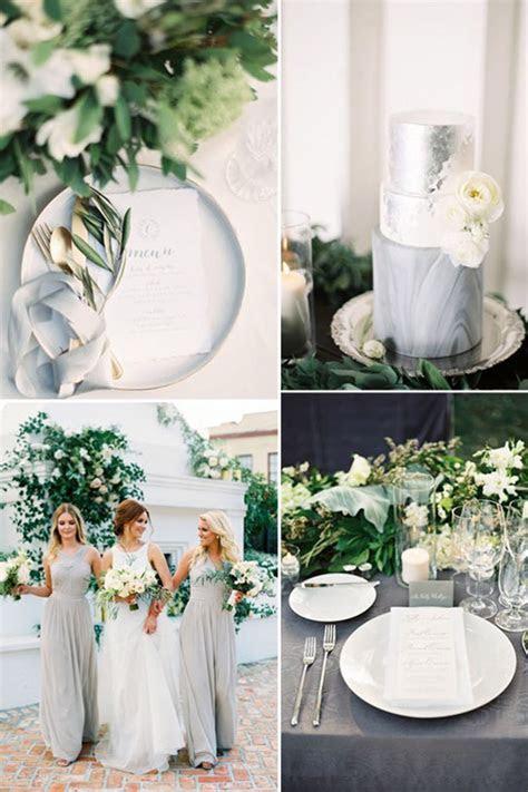 Grey Wedding Theme   Wedding Ideas By Colour   CHWV