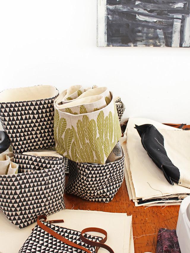 Storage basket production
