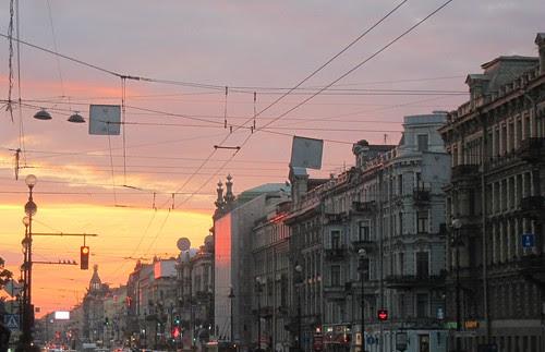 Iltarusko Pietarissa by Anna Amnell