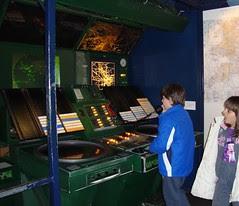 flight control deck science museum
