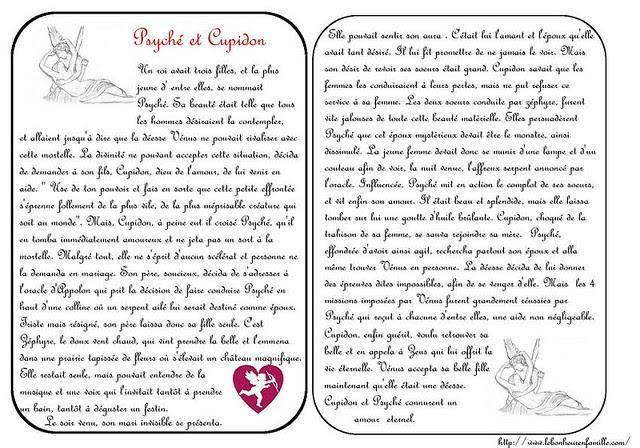 AAAAAAAAAgrosse cartes Psyché et Cupidon